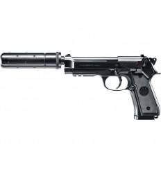 Beretta M92a1 Tactical BK Culasse Métal AEP Pack Complet 0.5J