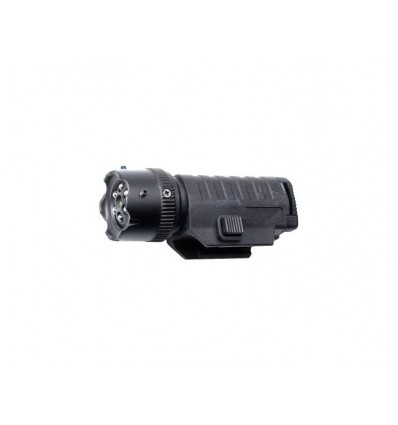 Strike Systems Lampe Tactique 6 Leds Laser Reglable Xtreme Airsoft