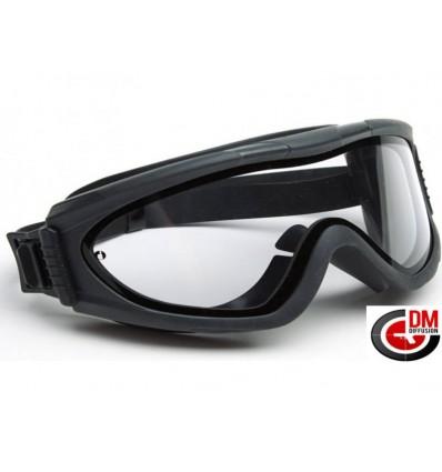 794a91af33b582 DMoniac Masque de protection Tactical Double ecran premium. (Lunette  transparente)