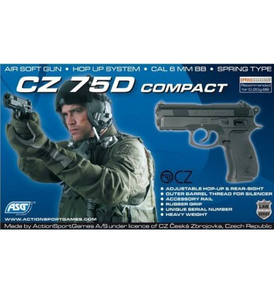 CZ 75D Compact HWA Spring 0.4J