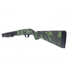Fusil à pompe Green custom Zombie 1J