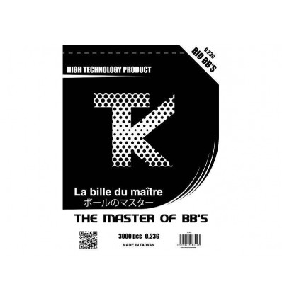 Billes BIO TK 0.23g x 3.000 en sachet
