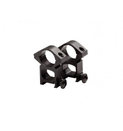 Strike Systems Anneaux de montage hauts pour lunette de visée 25,4x20x21