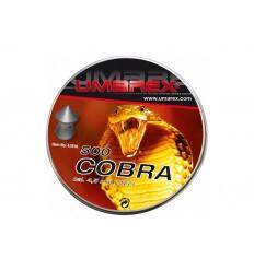 Plombs pointue UMAREX Cobra diabolos 4.5 (x500)
