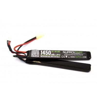Batterie LiPo NUPROL 2 éléments 7,4V / 1450mAh