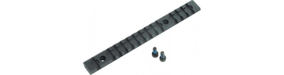 Rail & anneaux de montage